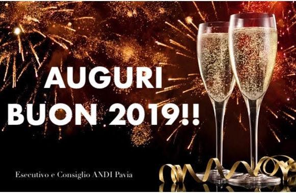 Buon 2019! Auguri da ANDI Pavia