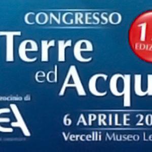 """Congresso """"Tra Terre ed Acqua"""", ecco la 13° edizione"""