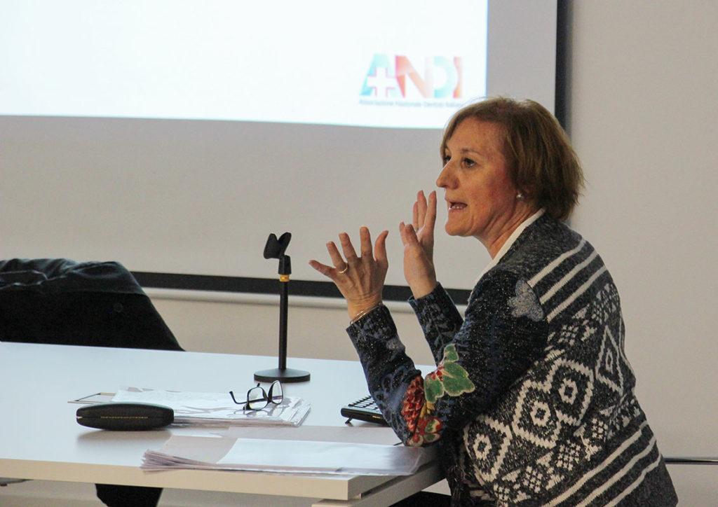 La dottoressa Maria Lorena Trecate, consulente di ANDI Nazionale
