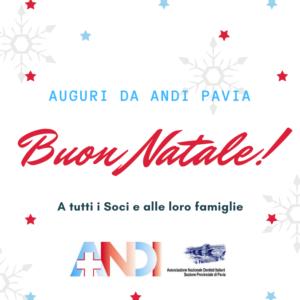 Auguri di buon Natale da ANDI Pavia