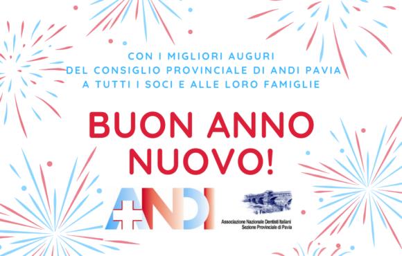 Buon anno nuovo da ANDI Pavia