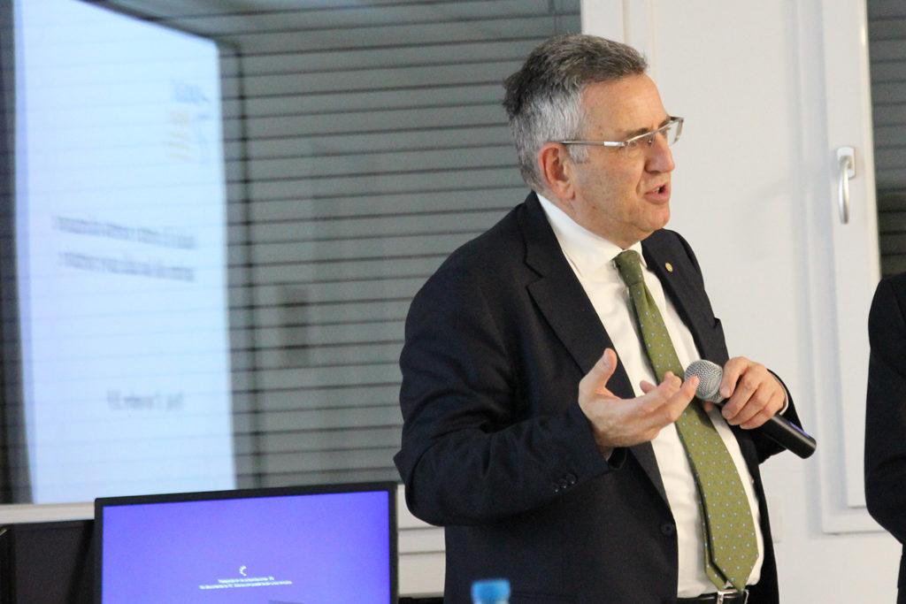 Il Presidente Nazionale CAO, Dottor Raffaele Iandolo
