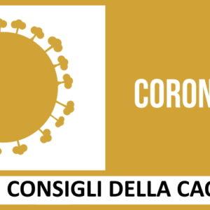 Coronavirus, le indicazioni della CAO