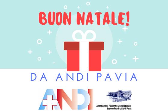 Buon Natale da ANDI Pavia