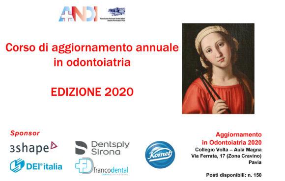 Formazione, ANDI Pavia riparte alla grande anche nel 2020