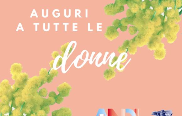 Festa della Donna, gli auguri di ANDI Pavia