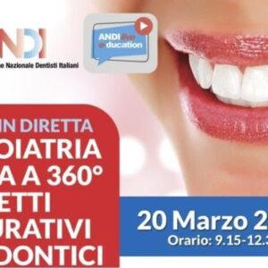 """ULTIMI POSTI DISPONIBILI – Webinar """"Odontoiatria estetica a 360° aspetti restaurativi e ortodontici"""""""