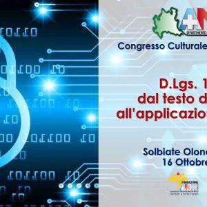 Congresso Culturale Lombardo 2021, il 16/10 l'appuntamento ANDI a Solbiate Olona (VA)